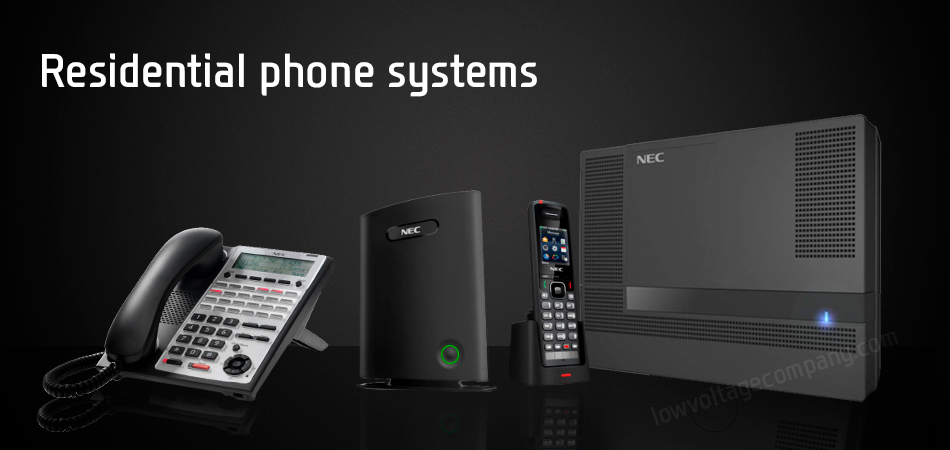 Residential phone systems